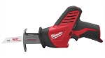 Milwaukee 2420-20, Hackzall M12 Cordless Reciprocating Saw - Bare Tool