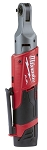 Milwaukee 2556-20, M12 FUEL 1/4in Cordless Ratchet (Tool Only)
