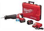 Milwaukee 2722-21HD, M18 FUEL Super Sawzall Cordless Reciprocating Saw Kit with HD12.0 Battery Pack