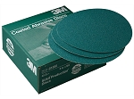 3M 01550, 8in Green Corps Stikit Production Disc 50 Discs Per Box