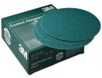 3M 01551, 8in Green Corps Stikit Production Disc 50 Discs Per Box