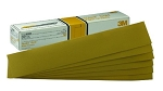 3M 02470, Hookit Gold Sheet 2-3/4in x 16in 50 Sheets Per Box