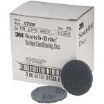 3M 07508, 2in Scotch Brite Surface Conditioning Discs - Very Fine Blue