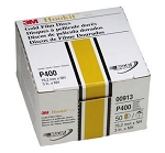 3M 00913, 3in Hookit Gold Disc 50 Discs Per Box