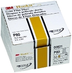 3M 00921, 3in Hookit Gold Disc 50 Discs Per Box