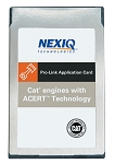 NEXIQ TECH 807024, Software PCMCIA for Caterpillar ACERT Engines