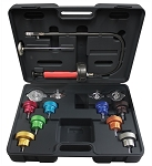 Mastercool 43300, 14 Piece Universal Cooling System Pressure Test Kit