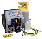 Mastercool 69360-22, Twin Turbo Refrigerant Recovery System for Refrigerated Trucks