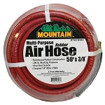 Mountain 633850RJ, 50ft x 3/8in Rubber Hose