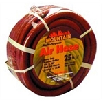 Mountain 841225RJ, 25ft x 1/2in Rubber Air Hose