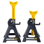 Omega 32038, 3 Ton Double Locking Ratchet Style Jack Stands