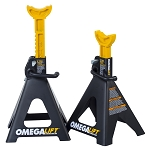 Omega 32068, 6 Ton Double Locking Ratchet Style Jack Stands