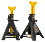 Omega 32128, 12 Ton Double Locking Ratchet Style Jack Stands