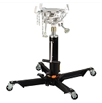 Omega 41001, 1000 Pound 2-Stage Telescoping Air / Lever Actuated Hydraulic Transmission Jack