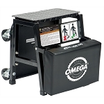 Omega 91305, 2 in 1 Mechanics Creeper Seat / Step Stool