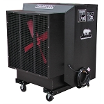 PolarCool 6622-1100, 24in Black Galvanized Steel Evaporative Cooler