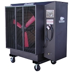 PolarCool 6622-1200, 36in Black Galvanized Steel Evaporative Cooler
