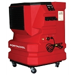 Port-A-Cool PACSNCY1EA, Cyclone 3000 Evaporative Cooler (Red)