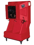 Port-A-Cool PACSNSVTEA, 16in Portable Evaporative Cooler with Vertical Tank (Red)
