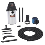 Shop Vac 9253900, Wall Mount Stainless Steel Garage Vacuum