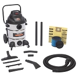 Shop Vac 9621310, Shop Vac Professional 12 Gallon Stainless Steel Vacuum
