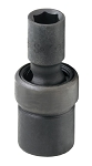 SK Tools 34336, 1/2in Drive Standard 6 Point Swivel Impact Socket 1-1/8in