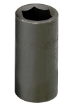 SK Tools 46119, 1/2in Drive 6 Point Flip Impact Socket 19mm - 21mm