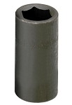 SK Tools 46125, 1/2in Drive 6 Point Flip Impact Socket 3/4in - 13/16in