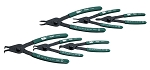 SK Tools 7600, 6 Piece Utility Grade Convertible Retaining Ring Pliers