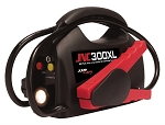 SOLAR JNC300XL, Jump-N-Carry Ultra-Portable Jump Starter with Flashlight - 900 Peak Amps