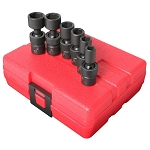 Sunex 1813, 6 Piece 1/4in Drive Universal SAE Impact Socket Set