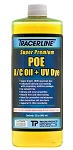 Tracer Products TD100EQ, 32oz bottle POE A/C Oil with UV Dye