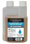 Tracer Products TP-3340-0008, 8oz. (237 ml) Bottle Synthetic or Petroleum-Based Fluid Dye - Glows BLUE