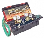 Uniweld Products HS-MDU, Hot Stuff 12 Piece Ready-To-Use Medium Duty Welding and Cutting Outfit