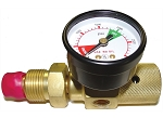 VACUTEC 200-22-227NG, Pre-Set Gas Flow Regulator 100 PSI
