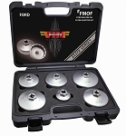 Vim Products FMOF, 6 Piece Ford Master Oil Filter Adapter Set
