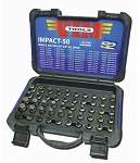 Vim Products IMPACT50, 50 Piece Impact Master Set 3/8in Square Drive