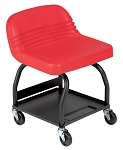 Whiteside Mfg HRS-R, High Rise Padded Seat - Red