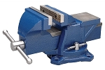 Wilton 11104, 4in Jaw Bench Vise with Swivel Base Stock Number 11104