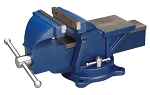 Wilton 11105, 5in Jaw Bench Vise with Swivel Base Stock Number 11105