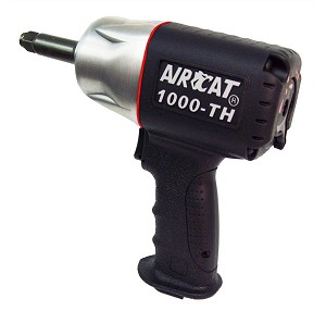 AIRCAT 1000-TH-2, 1/2in Drive Composite Air Impact Wrench with 2in Anvil
