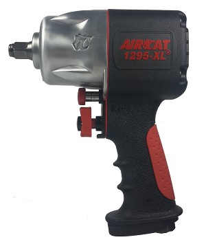 AIRCAT 1295-XL, 1/2in Compact Composite Air Impact Wrench