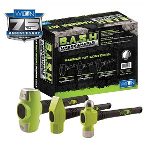 Wilton 11111, 3 Piece B.A.S.H Mechanics Hammer Kit Stock Number 11111