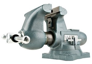 Wilton 1755, Tradesman 5-1/2in Round Channel Vise with Swivel Base Stock Number 28806