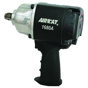 AIRCAT 1680-A, 3/4in Drive Twin Hammer Air Impact Wrench