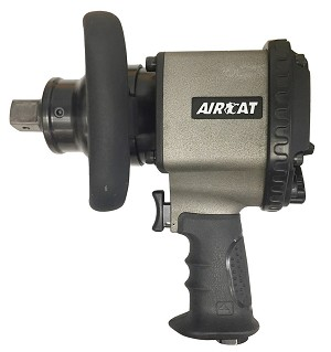 AIRCAT 1890-P, 1in Pistol Two Jaw Clutch Air Impact Wrench
