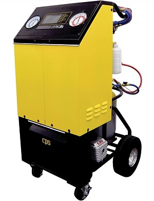 CPS Products FA1000, Deluxe R134a Recover / Recycle / Recharge Machine with 8ft Hoses and 50 lbTank