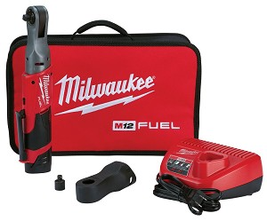 Milwaukee 2557-21, M12 FUEL 3/8in Cordless Ratchet Auto Kit